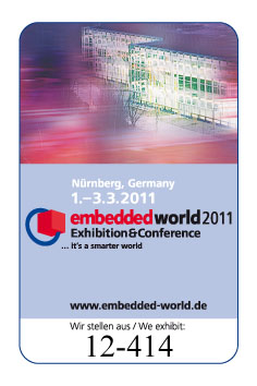 Struck Embedded World 2011 booth